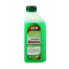 Антифриз SIBIRIA зеленый 1кг