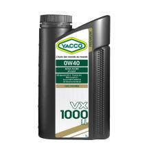 МАСЛО МОТОРНОЕ YACCO 0W40 VX 1000 LL/1L