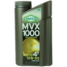 YACCO 10W50 MVX 1000 4T/1L