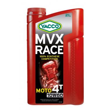 YACCO 10W60 MVX RACE 4T/2L