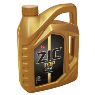 Моторное масло ZIC TOP 0W40 (4L)