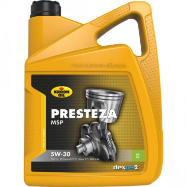 Моторное масло KROON-OIL Presteza MSP 5W-30 5L