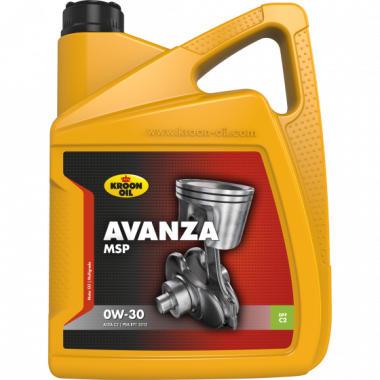 Моторное масло KROON-OIL AVANZA MSP 0W30 5L ACEA C2-12, PSA B71 2312