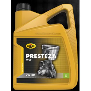 Моторное масло KROON-OIL Presteza MSP 0W20 5L ACEA C5, API SN, API SN Plus, ILSAC GF-5