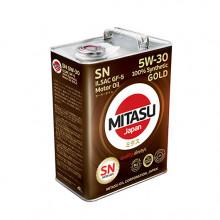 MITASU 5W30 4L GOLD SN/ILSAC GF-5/DEXOS