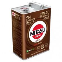 MITASU 5W20 4L GOLD SN/ILSAC GF-5/DEXOS