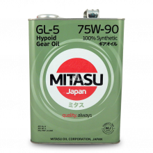 MITASU 75W90 4L МАСЛО ТРАНСМИСИОННОЕ GEAR OIL GL-5