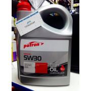 Масло моторное 5W30 5L ORIGINAL PATRON